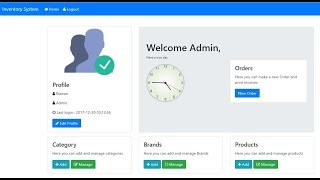 Inventory Management System | Categories with Pagination | PHP