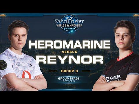 HeRoMaRinE vs Reynor TvZ - Group C Winners - 2019 WCS Global Finals - StarCraft II