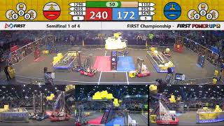 Semifinal 1 - 2018 FIRST Championship - Houston - Turing Subdivision