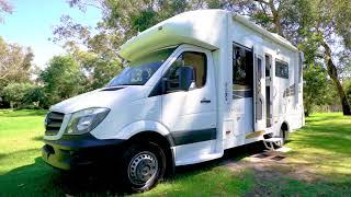 Sunliner Motor Home Tour   Olantas Motorhomes