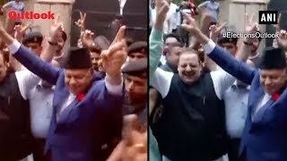 LS Results: Farooq Abdullah celebrates National Conference's win