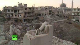 Город-призрак: война превратила сирийский Хомс в руины