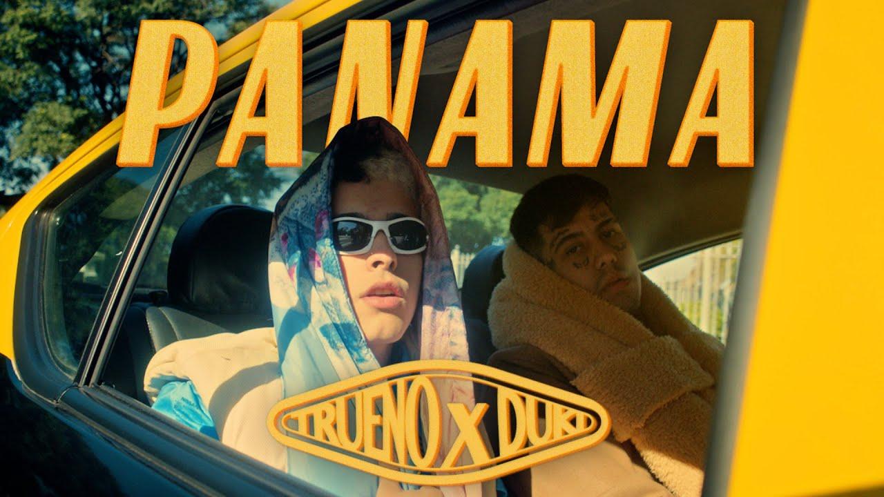 """Duki y Trueno  """"Panamá"""" no nuevo que suena y está rompiendo las listas.."""