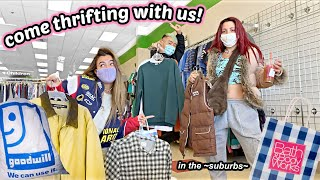 Transforming Into ~Main Characters~ with Niki! Thrifting, running in fields and getting snowed in