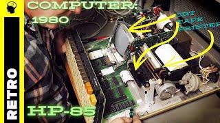 Computer History: HP-85 (wissenschaftlicher Schreibtischcomputer von 1980)