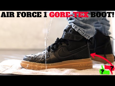 NIKE AIR FORCE 1 GORE-TEX BOOT Review & On Feet!