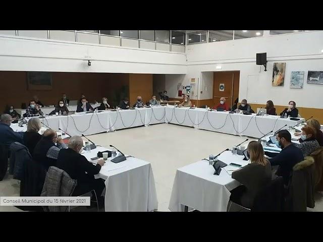 Conseil Municipal du 15 février 2021