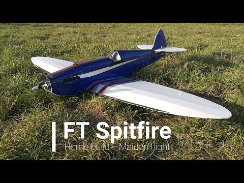 ft-spitfire--home-made-maiden-flight