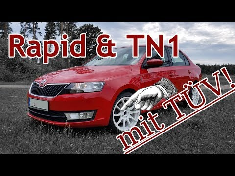 "Skoda Rapid + Tomason TN1 17"" Felgen"