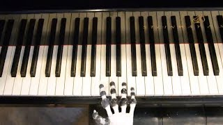 3D-printed robot hand plays the piano