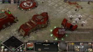 Warhammer 40,000: Dawn of War Dark Crusade Захват базы Тау.