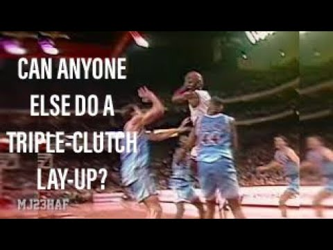 "Michael Jordan ""The Layup"", Better than ""The Move""? (1991.02.16)"