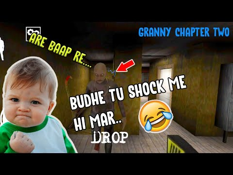 Grandpa Ko Shock Laga Diya (Granny Chapter Two) Funny Gameplay