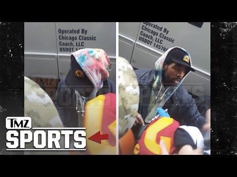 Kyrie Irving Hands Out Hundred Dollar Bills to Kids in Chicago | TMZ Sports