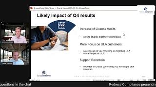 Oracle Q4 News 2020 - How will it impact you?