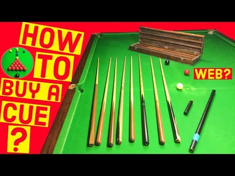 Snooker Cues For Sale