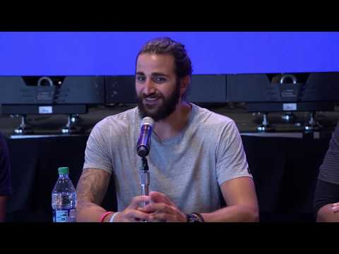Ricky Rubio Introductory Press Conference with the Phoenix Suns