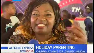 Babu Owino calls on Parents to be role models to their children who are at home for the holidays