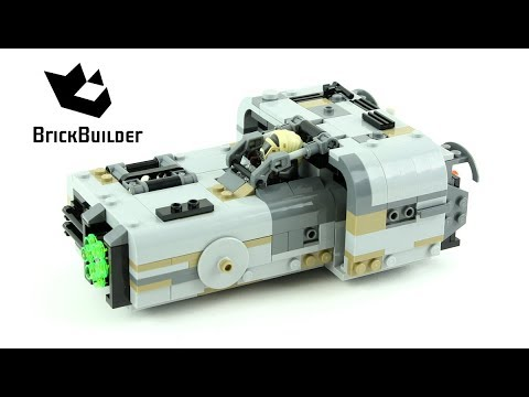 Vidéo LEGO Star Wars 75210 : Le Landspeeder de Moloch