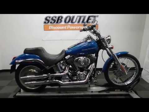 2001 Harley-Davidson Softail Deuce in Eden Prairie, Minnesota