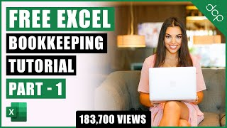 Bookkeeping for Small Business - Excel Tutorial - Part 1 - Invoice Tracking - Bookkeeping Training