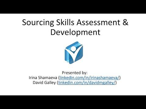 Webinar - Sourcing Skills Assessment and Development (January ...
