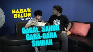 BABAK BELUR EPS 9 - Puasa Pertama Bebek Gagal Sahur Gara-gara Simbah