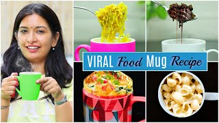 "Subscribe to my channel https://rb.gy/dc3jkf  We all know how much bachelors are busy in their work, studies etc but to remove one stress and to provide them a healthy or  yummy breakfast i'm presenting this easy breakfast or brunch recipes that will surely help them to have proper meal on time..  So do try these mug recipes at home and don't forget to let us know which one you likes the most??  #CookWithNishaRecipe  #CookWithNishaDesserts #CookWithNishaHacks #MyMissAnand #CookWithNishaChallenges #CookWithNisha #ShrutiArjunAnand #BreakfastRecipes #MugFoodRecipes   Don't forget to hit LIKES, SHARE & COMMENT!! Also if you are new to my channel don't forget to SUBSCRIBE!!!..  Also we are replying of your comments so also don't forget to COMMENT.  INGREDIENTS :- Mug Maggi Recipe 1- Maggi 2- Maggi Masala 3- Water 4- Onion 1/2 tsp 5- Tomato 1/2 tsp 6- Green Chilli 1/4 tsp 7- Oregano 1/4 tsp  Mug Macroni Recipe 1- Macroni 1/2 tsp 2- Water 1/2 cup 3- Grated Cheese 1/2 cup 4- Milk 1/2 cup 5- Tomato 1/2 cup 6- Onion 1/2 cup 7- Oregano 1/4 tsp 8- Chilli Flakes 1/4 tsp 9- Salt (as per taste)  Oreo Mug Cake 1- Oreo Biscuit 4 to 5 2- Milk 1/2 cup 3- Eno 1 pinch  Omelette Mug Recipe 1- Bread Slice 1 2- Egg 3 3- Onion 1 tsp 4- Tomato 1 tsp 5- Green Chilli 1/4 tsp 6- Salt (as per taste) 7- Chilli Flakes 1/4 tsp 8- Oregano 1/4 tsp 9- Milk 1/2 tsp  CREDITS :- Creative Head: Nisha Topwal Directed By : Pankaj Topwal DOP : Bhagirath Verma Assistant Director : Suraj Sundriyal Edited by : Rahul Singh Presented By :  Nisha Topwal, Suraj, Danish, Pankaj Social Media : Komal Sharma  Thanks, Nisha Topwal  AUDIO DISCLAIMER/CREDITS – ""Music from Epidemic Sound (http://www.epidemicsound.com)"""