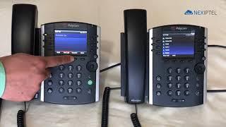 How to Transfer the Call on Polycom VVX 411 Phone?