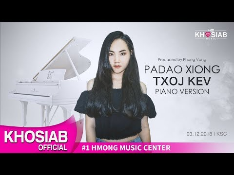 Padao Xiong 'Txoj Kev' Piano Version (Official Lyric Video)