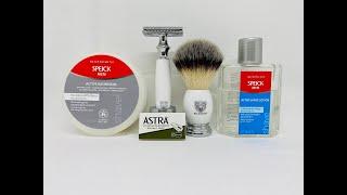 Klassische Rasur - WLDOHO YVU Set, Speick Men Shaving Soap and After Shave