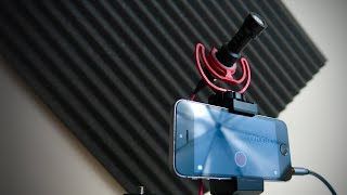 How to connect an EXTERNAL MIC to an iPHONE