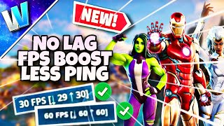 How to Fix LAG in FORTNITE MOBILE Android | NEW and UPDATED METHODS | Season 4 Fps BOOST