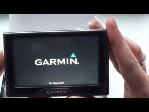Распаковка.Garmin Drive 40.