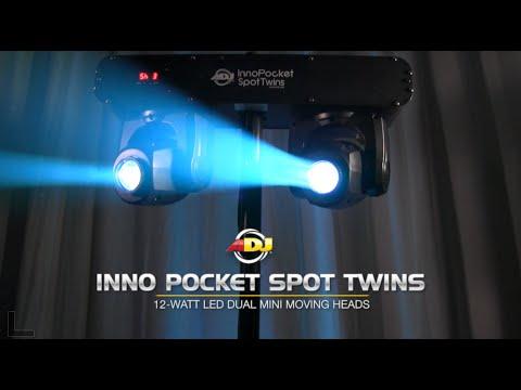 Adj 2 Cabezas Moviles Beam Figuras Rgb Inno Pocket Twin