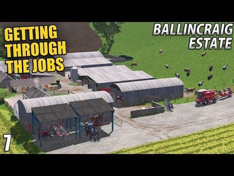 GETTING THROUGH THE JOBS | Ballincraig Estate - Episode 7