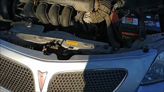 2003-2008 Pontiac Vibe Hood Won't Open or Stay Shut / Latch Repair 88972905 53510-02230