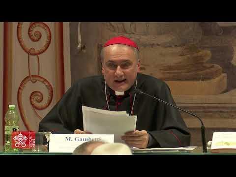 Gambetti bíboros ismerteti az alapítványt