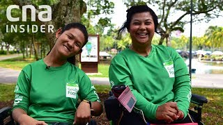 GrabFood Delivery Gig Gives Woman With Cerebral Palsy Her Independence