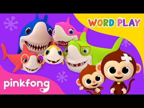 Baby Shark and more   Word Play   3D Nursery Rhyme   +Compilation   Pinkfong Songs for children