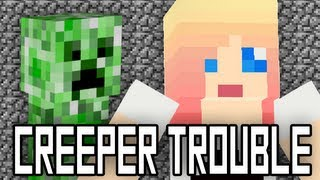 """CREEPER TROUBLE - A Minecraft Parody of Taylor Swift's """"I Knew You Were Trouble"""""""