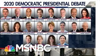 The DNC Announces Official Matchups For First 2020 Debates | The 11th Hour | MSNBC