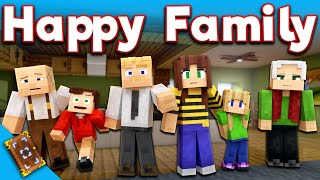 EnchantedMob | HAPPY FAMILY Minecraft Skin Pack (Trailer)