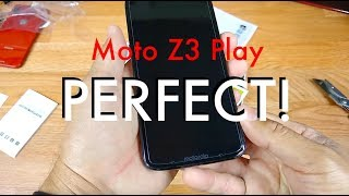 Moto Z3 Play Tempered Glass ( Simply Perfect )