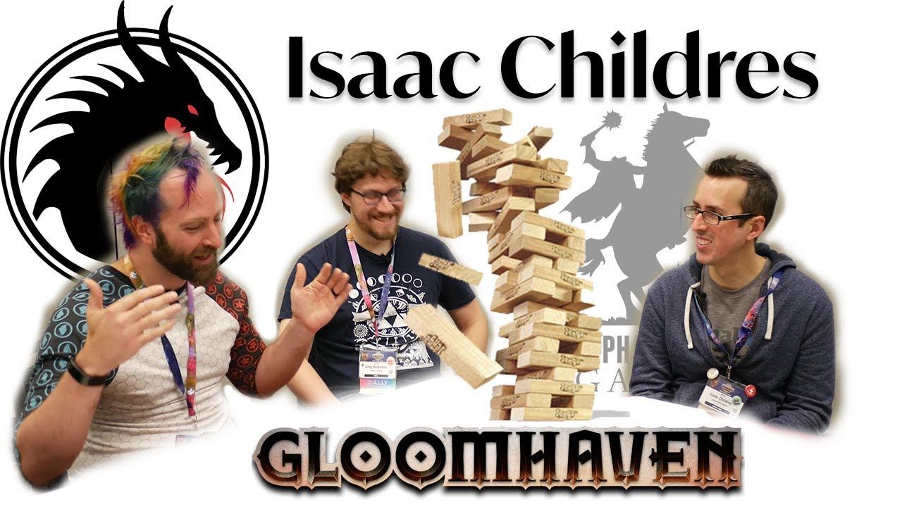 Isaac Childres - Jenga Interview (Origins 2019)