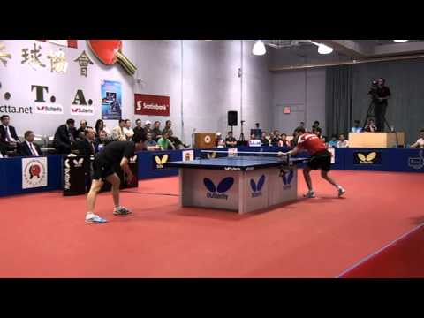 2013 CCTTA Butterfly Open final (position 3~4 ) Sun,Jian Fei vs SZYMANSKI, Filip 1