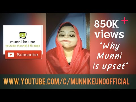Episode 14 revealing why munni is upset !!!
