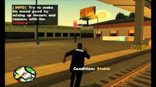 Suicidal Person / Huge Shootout - GTA SA (SAPD:FR)