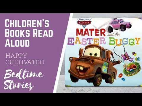 DISNEY MATER CARS EASTER Story For Kids | Easter Books For Kids | Children's Books Read Aloud