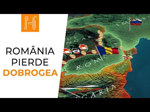 Romania pierde Dobrogea
